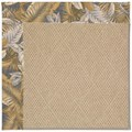 Capel Rugs Creative Concepts Cane Wicker - Bahamian Breeze Ocean (420) Octagon 12