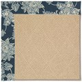 Capel Rugs Creative Concepts Cane Wicker - Bandana Indigo (465) Octagon 12
