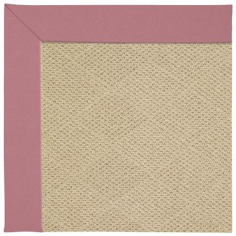 Capel Rugs Creative Concepts Cane Wicker - Canvas Coral (505) Octagon 12' x 12' Area Rug