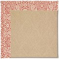 Capel Rugs Creative Concepts Cane Wicker - Imogen Cherry (520) Octagon 12