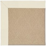 "Capel Rugs Creative Concepts Cane Wicker - Canvas Ivory (605) Runner 2' 6"" x 8' Area Rug"