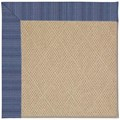 Capel Rugs Creative Concepts Cane Wicker - Vierra Navy (455) Runner 2