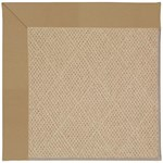 Capel Rugs Creative Concepts Cane Wicker - Canvas Linen (175) Rectangle 3' x 5' Area Rug