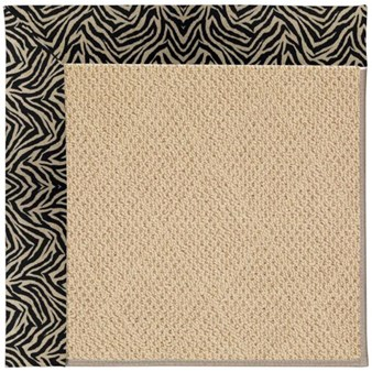 Capel Rugs Creative Concepts Cane Wicker - Wild Thing Onyx (396) Rectangle 3' x 5' Area Rug