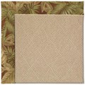 Capel Rugs Creative Concepts Cane Wicker - Bahamian Breeze Cinnamon (875) Rectangle 3