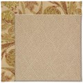 Capel Rugs Creative Concepts Cane Wicker - Cayo Vista Sand (710) Rectangle 6