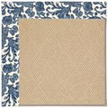 Capel Rugs Creative Concepts Cane Wicker - Batik Indigo (415) Rectangle 8