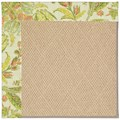 Capel Rugs Creative Concepts Cane Wicker - Cayo Vista Mojito (215) Rectangle 8
