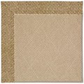 Capel Rugs Creative Concepts Cane Wicker - Tampico Rattan (716) Rectangle 9