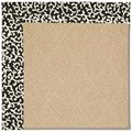 Capel Rugs Creative Concepts Cane Wicker - Coral Cascade Ebony (385) Rectangle 10