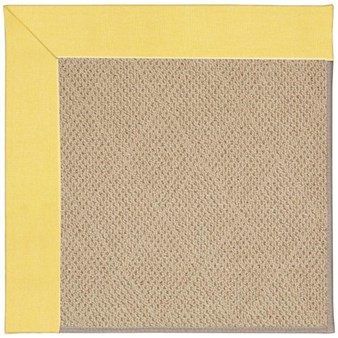 Capel Rugs Creative Concepts Cane Wicker - Canvas Buttercup (127) Rectangle 12' x 15' Area Rug