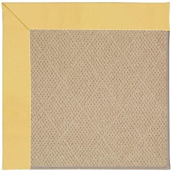 Capel Rugs Creative Concepts Cane Wicker - Canvas Canary (137) Rectangle 12' x 15' Area Rug