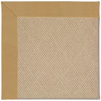 Capel Rugs Creative Concepts Cane Wicker - Canvas Brass (180) Rectangle 12' x 15' Area Rug