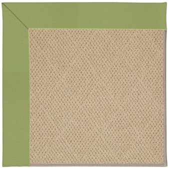 Capel Rugs Creative Concepts Cane Wicker - Canvas Citron (213) Rectangle 12' x 15' Area Rug