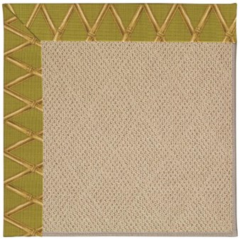 Capel Rugs Creative Concepts Cane Wicker - Bamboo Tea Leaf (236) Rectangle 12' x 15' Area Rug