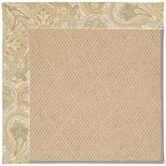Capel Rugs Creative Concepts Cane Wicker - Paddock Shawl Mineral (310) Rectangle 12' x 15' Area Rug