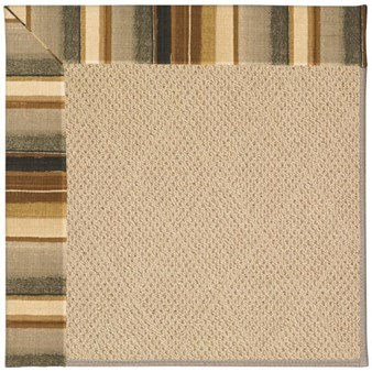Capel Rugs Creative Concepts Cane Wicker - Kalani Coal (330) Rectangle 12' x 15' Area Rug