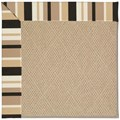Capel Rugs Creative Concepts Cane Wicker - Granite Stripe (335) Rectangle 12
