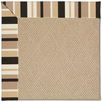 Capel Rugs Creative Concepts Cane Wicker - Granite Stripe (335) Rectangle 12' x 15' Area Rug