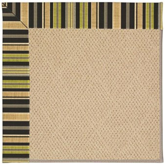 Capel Rugs Creative Concepts Cane Wicker - Vera Cruz Coal (350) Rectangle 12' x 15' Area Rug