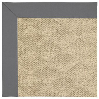 Capel Rugs Creative Concepts Cane Wicker - Canvas Charcoal (355) Rectangle 12' x 15' Area Rug