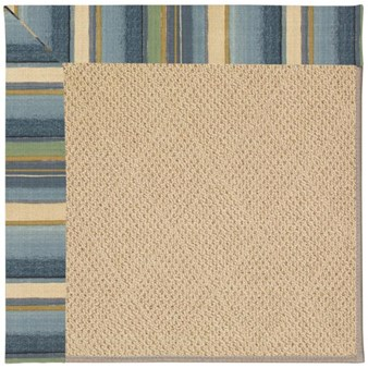 Capel Rugs Creative Concepts Cane Wicker - Kalani Ocean (417) Rectangle 12' x 15' Area Rug