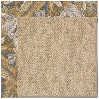 Capel Rugs Creative Concepts Cane Wicker - Bahamian Breeze Ocean (420) Rectangle 12' x 15' Area Rug
