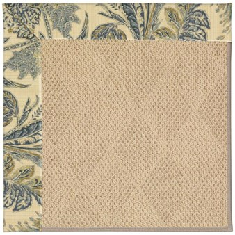 Capel Rugs Creative Concepts Cane Wicker - Cayo Vista Ocean (425) Rectangle 12' x 15' Area Rug