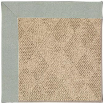 Capel Rugs Creative Concepts Cane Wicker - Canvas Spa Blue (427) Rectangle 12' x 15' Area Rug