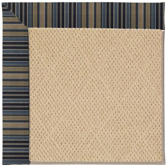 Capel Rugs Creative Concepts Cane Wicker - Vera Cruz Ocean (445) Rectangle 12' x 15' Area Rug