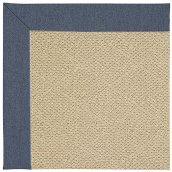 Capel Rugs Creative Concepts Cane Wicker - Heritage Denim (447) Rectangle 12' x 15' Area Rug