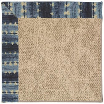 Capel Rugs Creative Concepts Cane Wicker - Java Journey Indigo (460) Rectangle 12' x 15' Area Rug