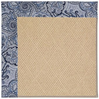 Capel Rugs Creative Concepts Cane Wicker - Paddock Shawl Indigo (475) Rectangle 12' x 15' Area Rug