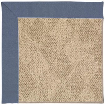 Capel Rugs Creative Concepts Cane Wicker - Canvas Sapphire Blue (487) Rectangle 12' x 15' Area Rug