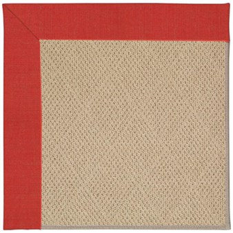 Capel Rugs Creative Concepts Cane Wicker - Dupione Crimson (575) Rectangle 12' x 15' Area Rug
