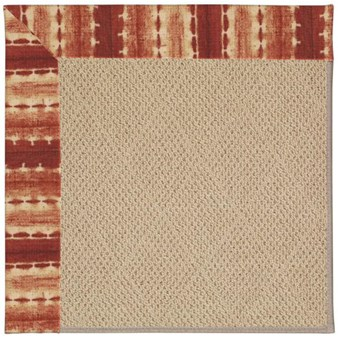 Capel Rugs Creative Concepts Cane Wicker - Java Journey Henna (580) Rectangle 12' x 15' Area Rug