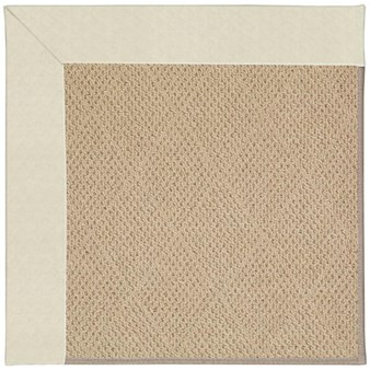 Capel Rugs Creative Concepts Cane Wicker - Canvas Sun Tile (612) Rectangle 12' x 15' Area Rug