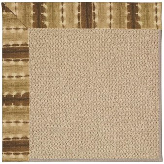Capel Rugs Creative Concepts Cane Wicker - Java Journey Chestnut (750) Rectangle 12' x 15' Area Rug
