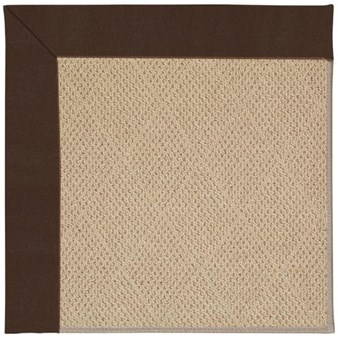Capel Rugs Creative Concepts Cane Wicker - Canvas Bay Brown (787) Rectangle 12' x 15' Area Rug