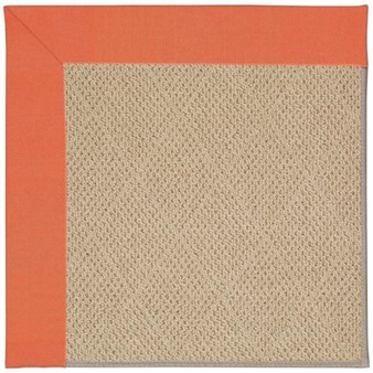 Capel Rugs Creative Concepts Cane Wicker - Canvas Melon (817) Rectangle 12' x 15' Area Rug