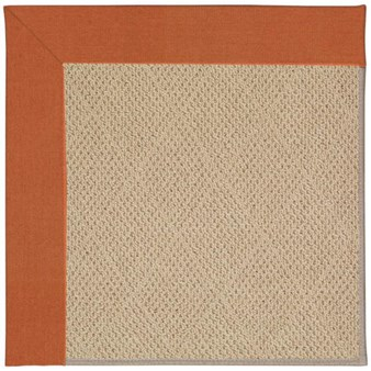 Capel Rugs Creative Concepts Cane Wicker - Canvas Rust (837) Rectangle 12' x 15' Area Rug