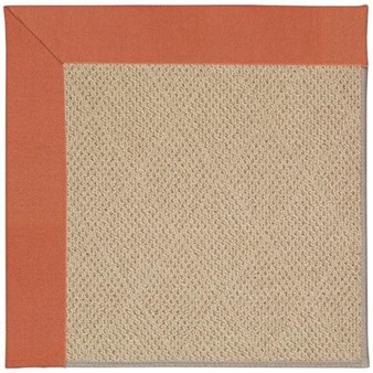 Capel Rugs Creative Concepts Cane Wicker - Canvas Persimmon (847) Rectangle 12' x 15' Area Rug