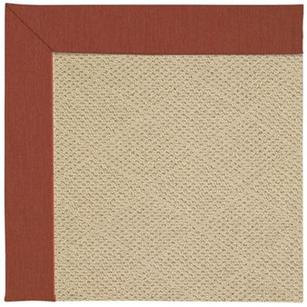 Capel Rugs Creative Concepts Cane Wicker - Canvas Brick (850) Rectangle 12' x 15' Area Rug