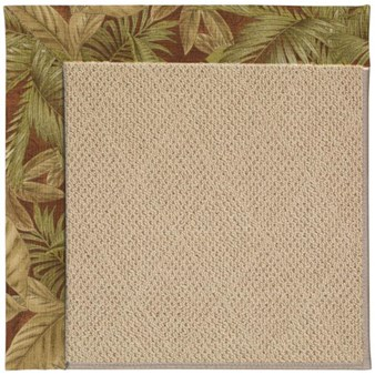 Capel Rugs Creative Concepts Cane Wicker - Bahamian Breeze Cinnamon (875) Rectangle 12' x 15' Area Rug