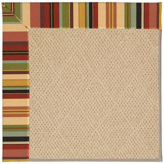 Capel Rugs Creative Concepts Cane Wicker - Sidewalk Lacquer-Ebony (920) Rectangle 12' x 15' Area Rug