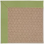 Capel Rugs Creative Concepts Grassy Mountain - Canvas Citron (213) Octagon 4' x 4' Area Rug