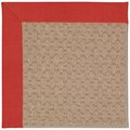 Capel Rugs Creative Concepts Grassy Mountain - Dupione Crimson (575) Octagon 4