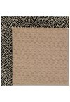 Capel Rugs Creative Concepts Grassy Mountain - Wild Thing Onyx (396) Octagon 6' x 6' Area Rug