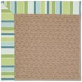 Capel Rugs Creative Concepts Grassy Mountain - Capri Stripe Breeze (430) Octagon 6