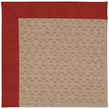 Capel Rugs Creative Concepts Grassy Mountain - Canvas Cherry (537) Octagon 8